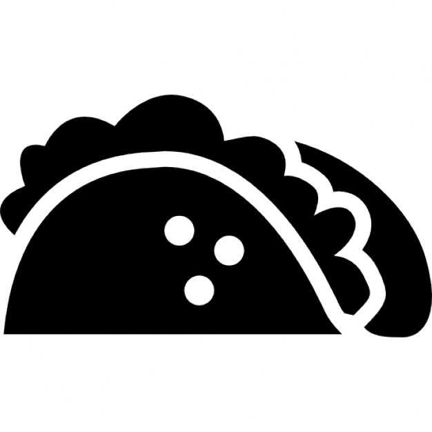 626x626 Taco Typical Food Of Mexico Icons Free Download