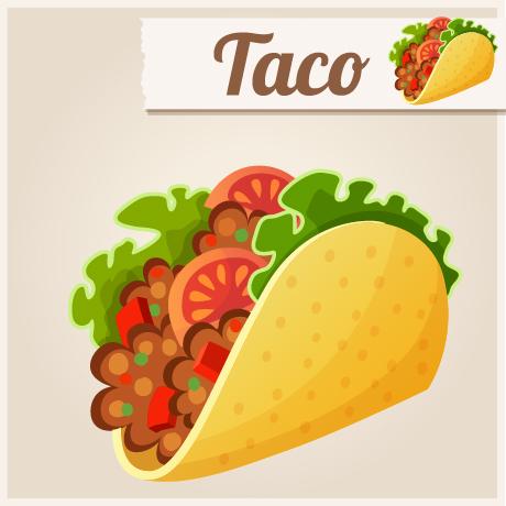 460x460 Taco Vector Design Free Download