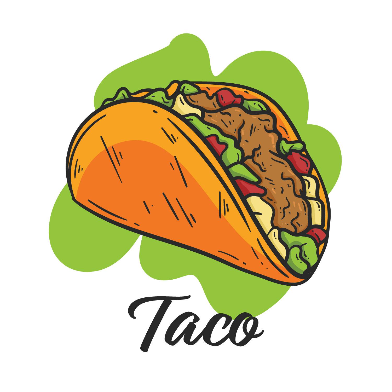 1500x1500 Mexican Taco Free Vector Art
