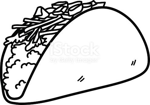 Taco Vector Art At Getdrawings Com