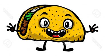 367x195 Funny Animated Taco Vector Free Vector Art, Images, Graphics