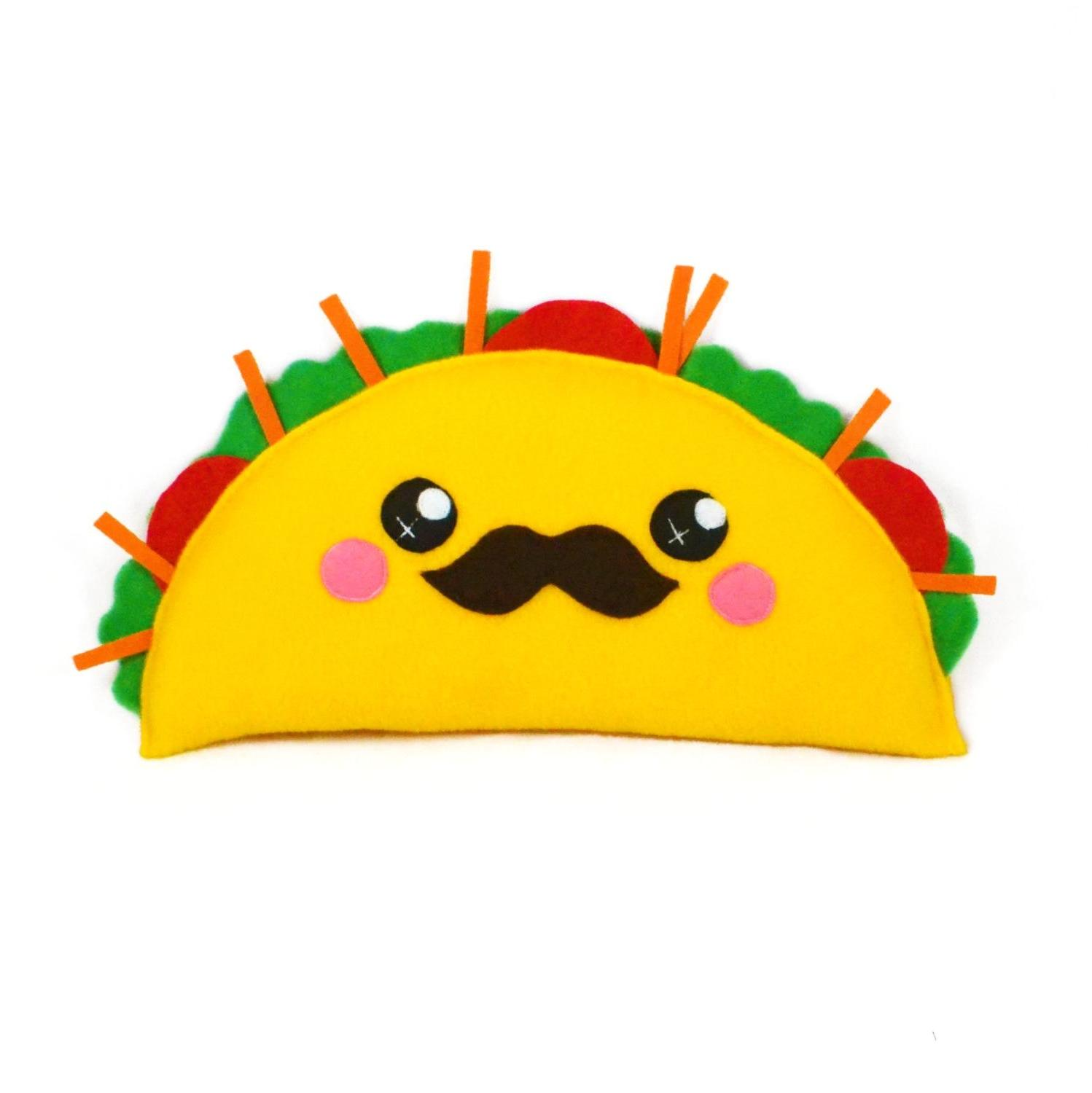 1498x1500 Best Free Top Cute Taco Clipart Small Design Vector Art Library