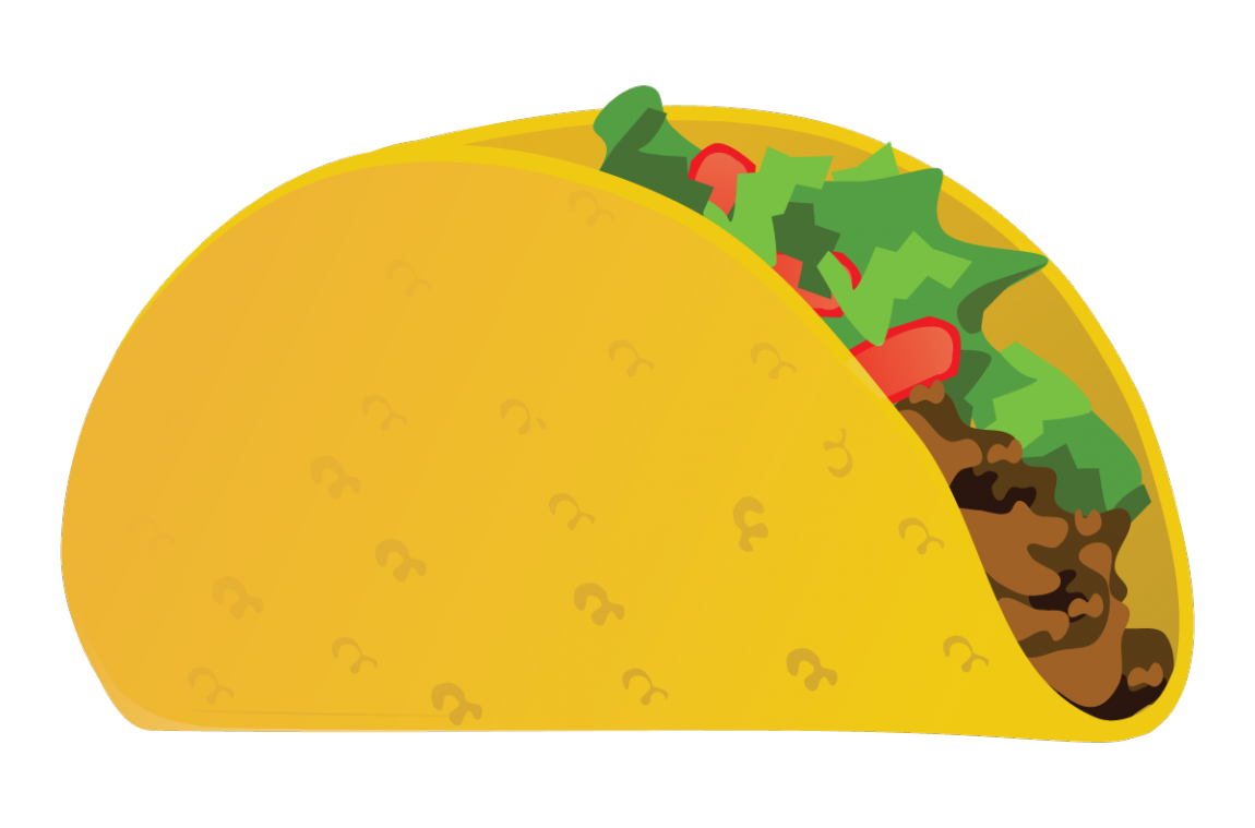 1150x759 Collection Of Free Transparent Taco Vector. Download On Ubisafe