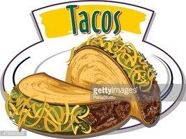 267x200 Tacos Vector Stock Vectors