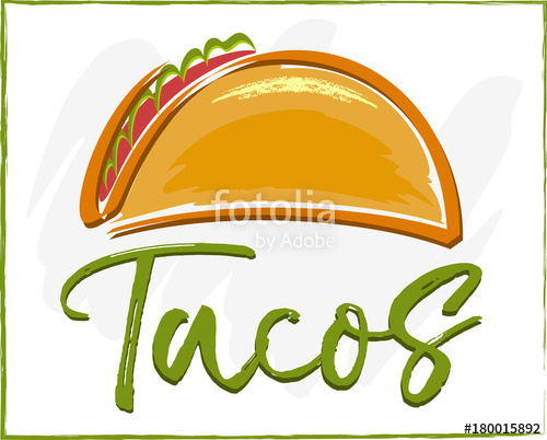 500x402 Tacos Vector Stock Image And Royalty Free Vector Files On Fotolia