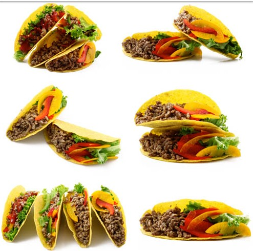 494x490 Tasty Mexican Tacos Vector Ai Format Free Vector Download