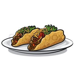 260x260 Download Tacos Vector Clipart Taco Mexican Cuisine Clip Art