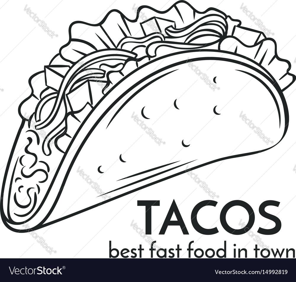 1000x953 Drawn Tacos Delicious