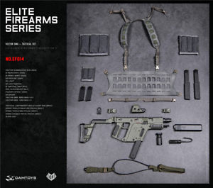 300x265 16 Damtoys Ef014 Tactical Vector Submachine Gun Weapon Model Set