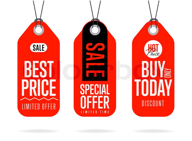 800x587 Sale Tag Vector Isolated. Sale Sticker With Special Advertisement