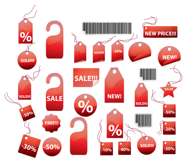 650x581 Discount Angle Label Advertising Brand Discount Tag Vector Free