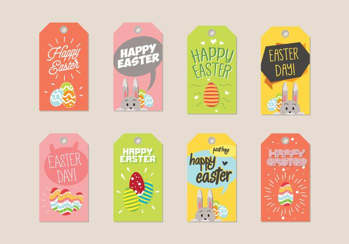 700x490 Easter Gift Tag Vector