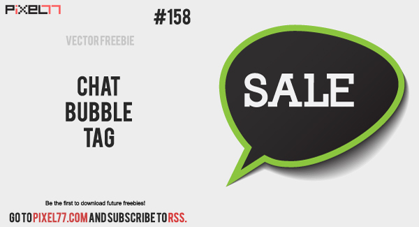 600x325 Free Download Of Chat Bubble Vector Tag