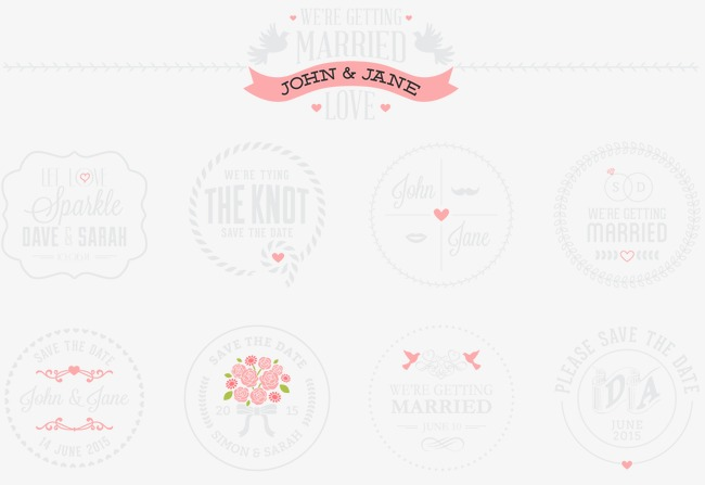 650x447 Wedding Tag Vector, Label, Wedding, Vector Png And Vector For Free
