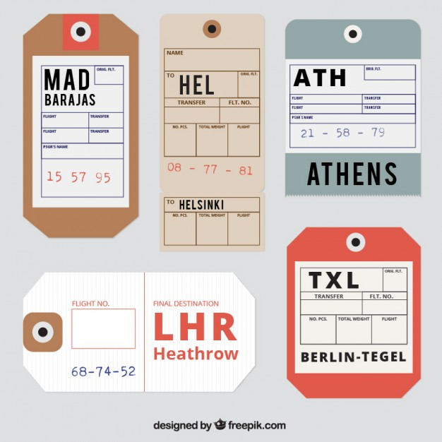 626x626 Luggage Tag Vectors, Photos And Psd Files Free Download