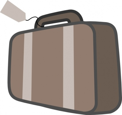 425x401 Travel Luggage Tag Vector
