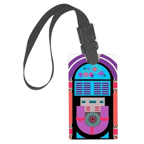 460x460 Antique Jukebox Vector Luggage Tag By Admin Cp70839509