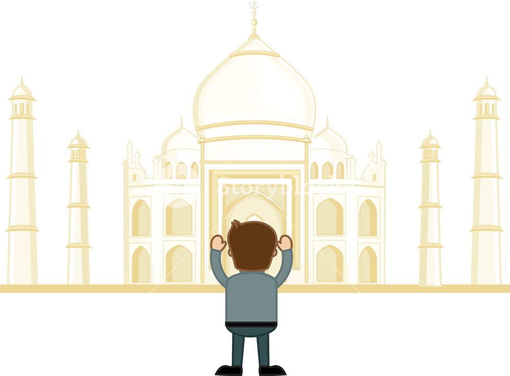 1000x738 Taj Mahal