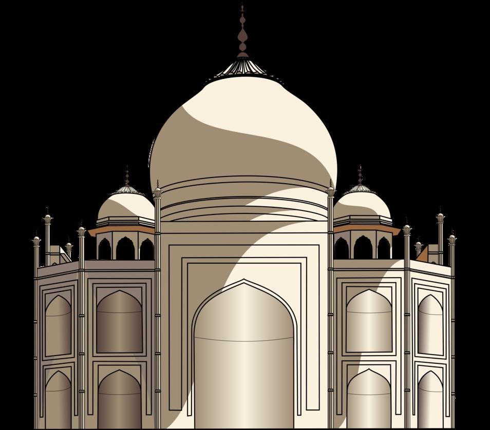 954x838 Taj Mahal Vector By Dark Samus1