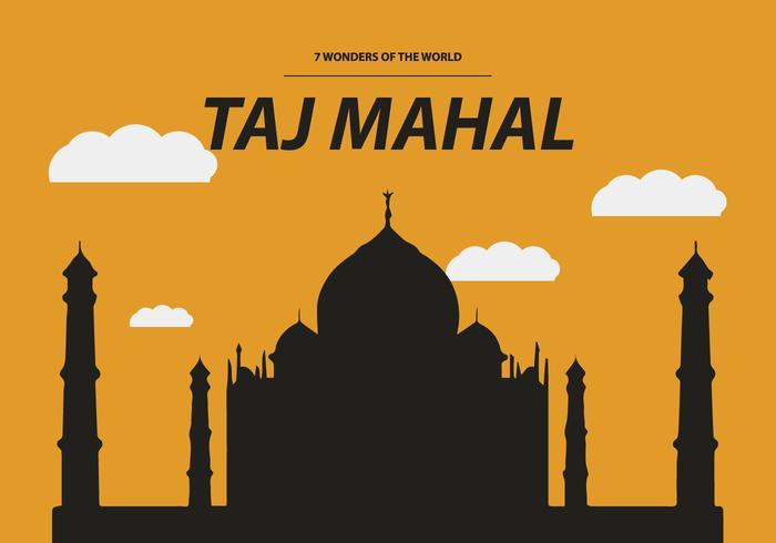700x490 Free Taj Mahal Vector