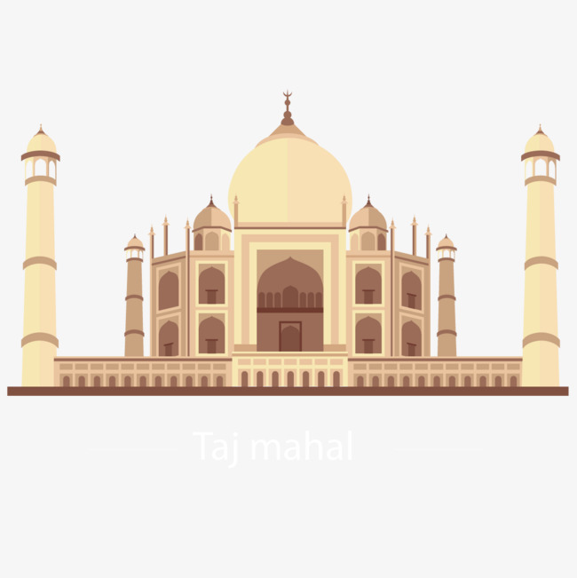 650x651 Vector Taj Mahal, India, Points Of Interest, Tourism Png And