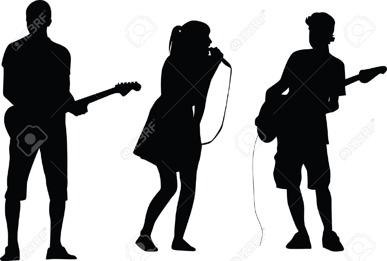 1300x879 Talent Show Silhouette Clipart