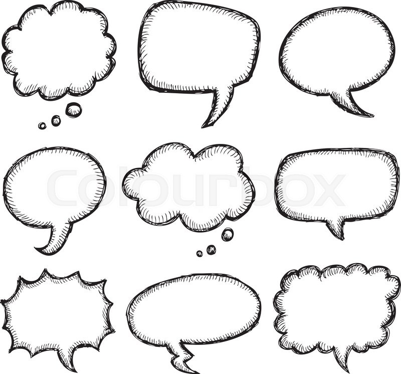 800x746 Speech Bubbles Speech Bubble Vector Free