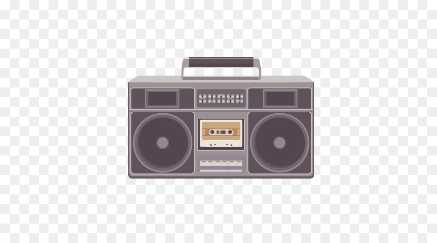 900x500 Boombox Tape Recorder Compact Cassette