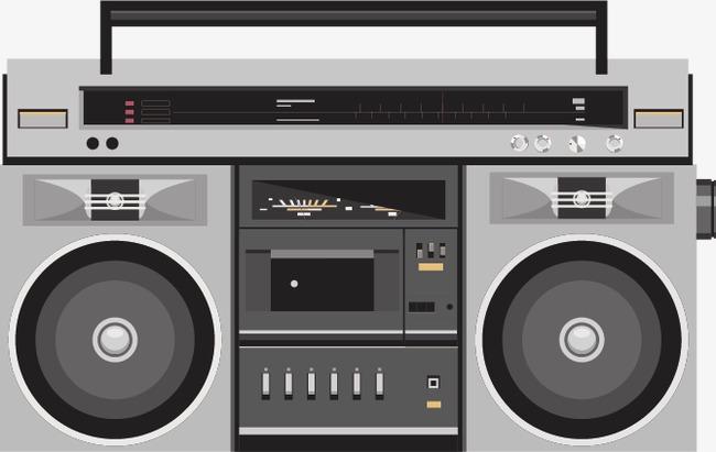 650x411 Creative Vintage Tape Recorders, Vintage Vector, Tape Vector, Tape