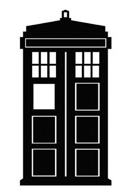 427x640 Doctor Who Stencil Silhouette Outline Clipart Mania! Svg Files
