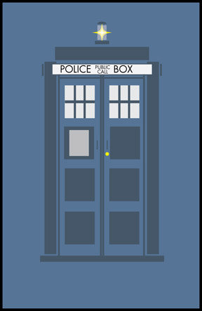 288x443 Tardis Limited Range Design All Rights