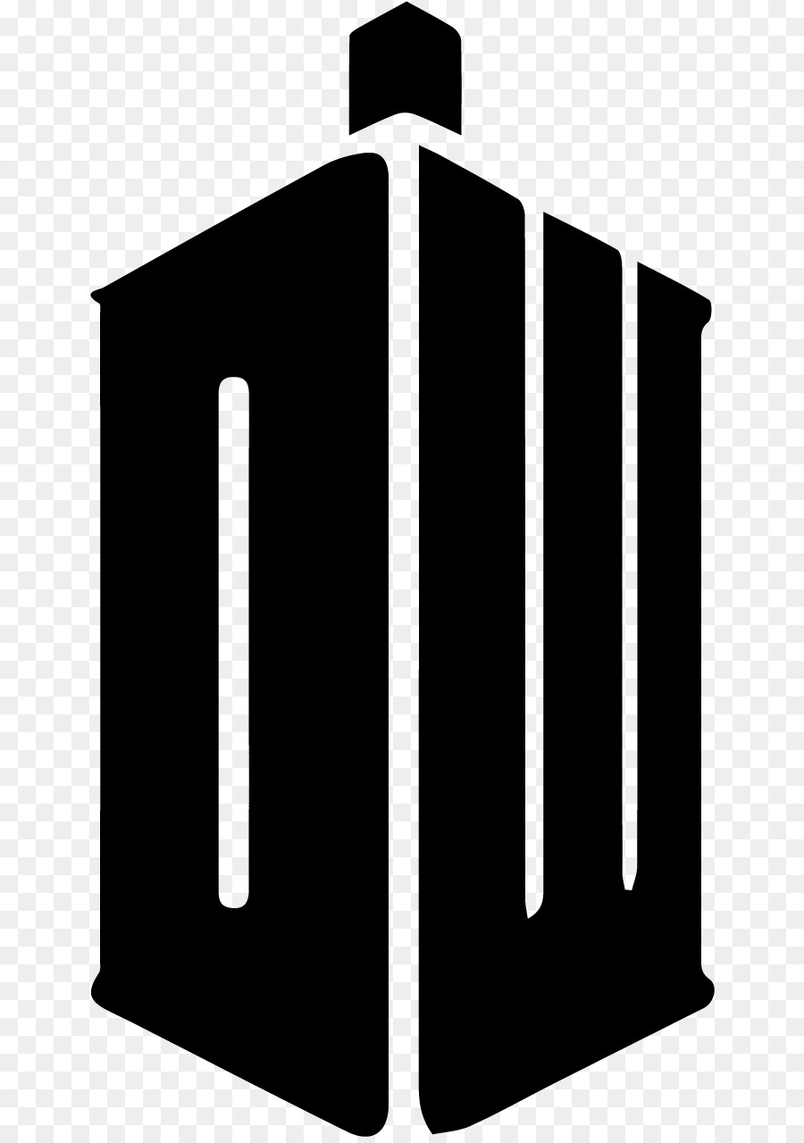 900x1280 Doctor Tardis Logo Stencil Decal