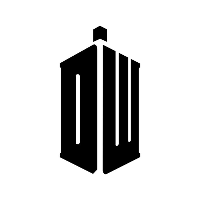 690x690 Dr Doctor Who Tardis Logo Graphics Design Svg By Vectordesign
