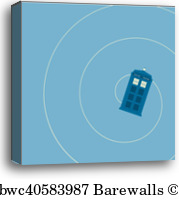 179x200 43 Tardis Canvas Prints And Tardis Canvas Art Barewalls