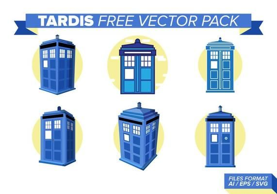 571x400 Tardis Free Vector Pack Time Travel Poster Inspiration