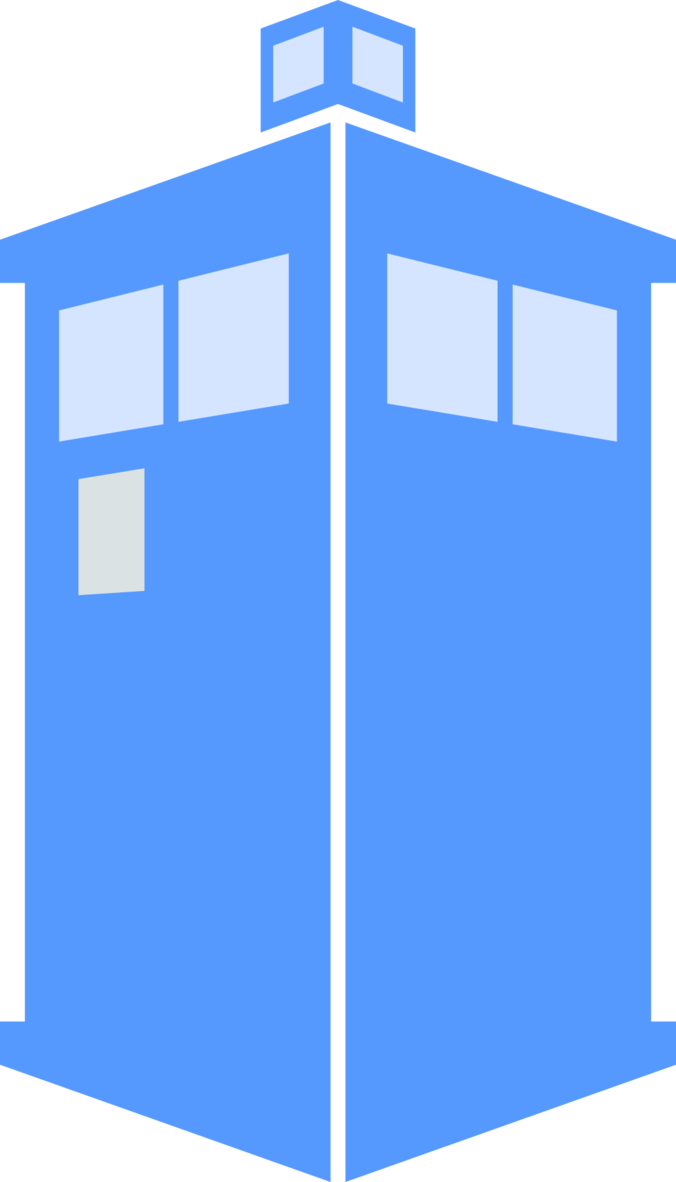 676x1182 Collection Of Free Tardis Vector Minimalist. Download On Ubisafe