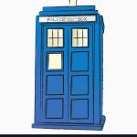 150x150 Tardis Vector Unique The Tardis Royalty Free Vector Image