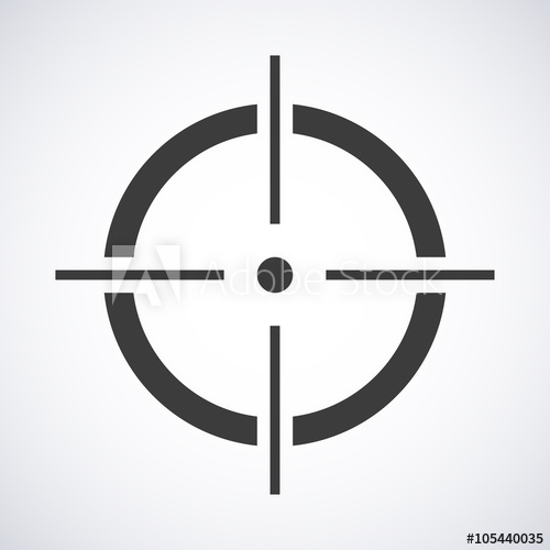 500x500 Target Icon Vector. Target Icon Jpeg. Target Icon Picture. Target