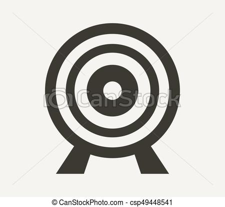 450x413 Target Icon Eps Vector