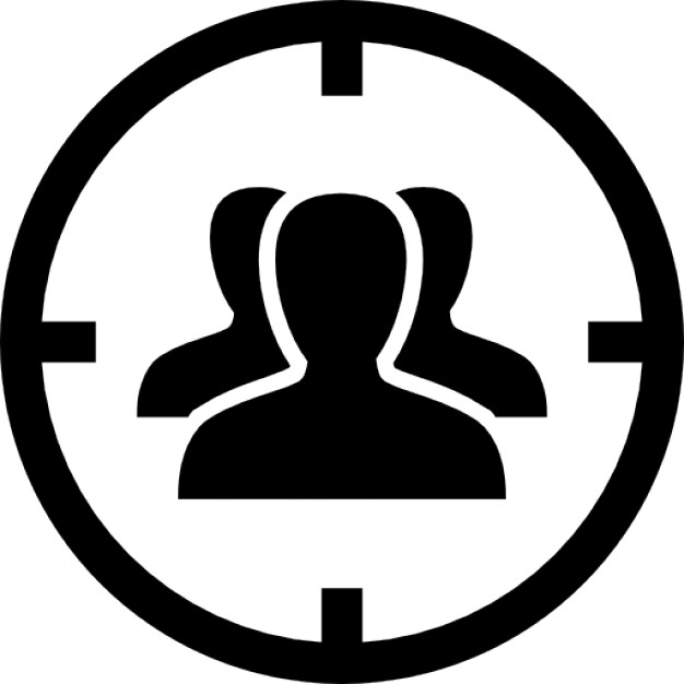 626x626 Target Of Audience Icons Free Download