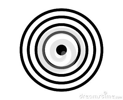 400x327 This Is A Simple Target Icon Vector Illustration For Many Uses
