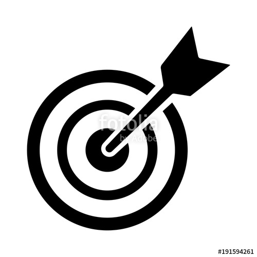 500x500 Arrow,target Icon, Business Icon Vector Stock Image And Royalty