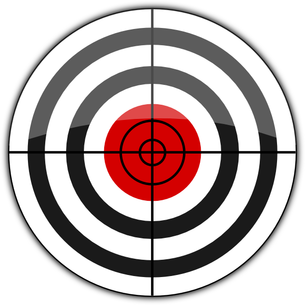 600x600 Collection Of Free Target Vector Practice. Download On Ubisafe