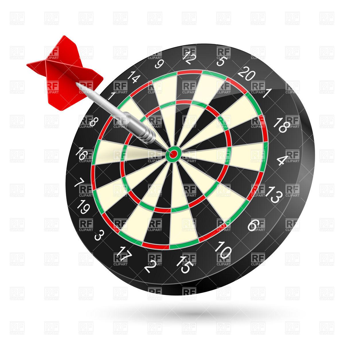 1200x1200 Dartboard With Dart