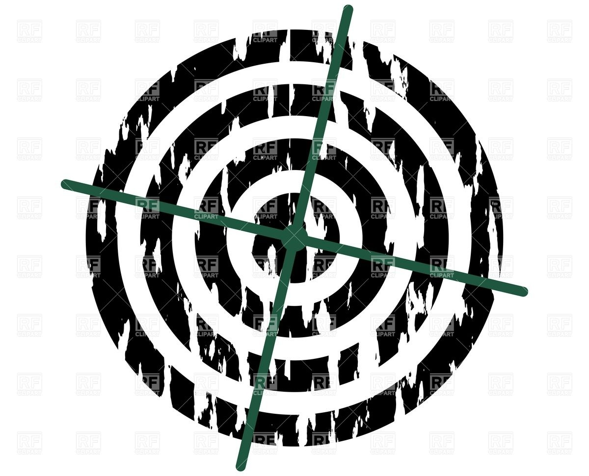 1200x971 Grunge Target Vector Image Vector Artwork Of Sport And Leisure