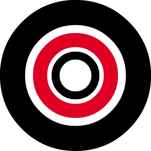 640x640 Target Vector Image