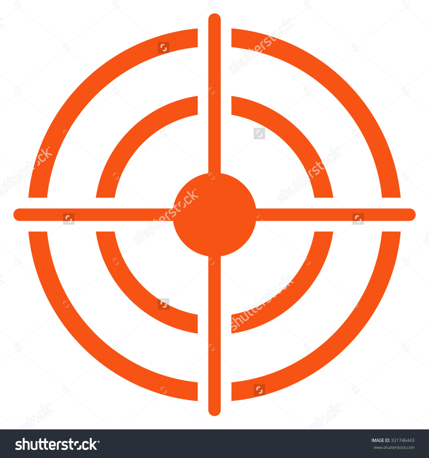 1500x1600 Clip Stock Target Symbol