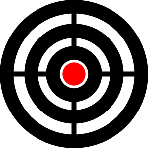 300x300 Collection Of Free Target Vector Cartoon. Download On Ubisafe