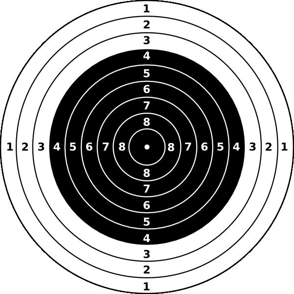 600x600 Collection Of Free Target Vector Pellet Gun. Download On Ubisafe