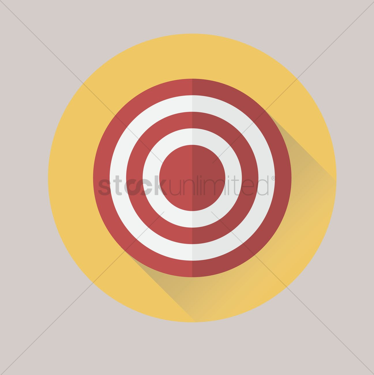 1297x1300 Free Target Vector Image